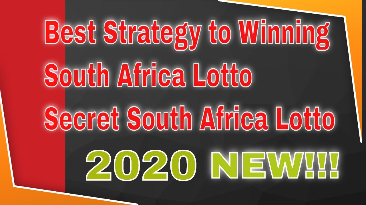 How to Win the South African Lotto